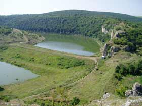 Dam near village of Kroshari, Dobrich